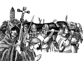 Brian Boru's wake at Swords